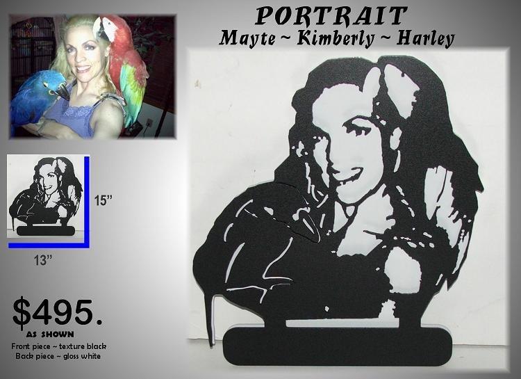 rsr metal art creations custom metal art portraits