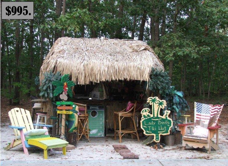 Rsr metal art creations custom metal art decor outside for Beach hut decoration items